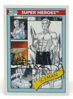 2013 Fleer Marvel Retro Iceman Autograph Card #11 X-Men Signed Pablo Raimondi