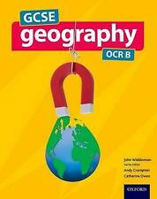 GCSE Geography OCR B Student Book, Paperback, Students Book, 9780198366652