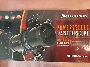 Celestron 21049 PowerSeeker 127EQ Telescope Manual German Equatorial Telescope