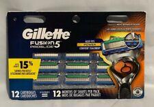 Gillette Fusion5 ProGlide Men's Razor Blades, 12 Blade Refills Free Shipping!