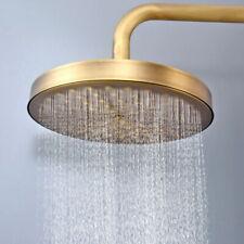 Antique Brass Round Rainfall Shower Head Bathroom Shower Head