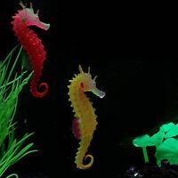 Cute Glow In The Dark Luminous Sea Horse Hippocampus Aquarium Fish Tank Decor