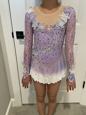 Competition Ice Skating Dress Child Size 6/7