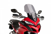 PUIG TOURING SCREEN DUCATI MULTISTRADA 1200/S 15-17 LIGHT SMOKE