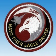 "Patch écusson Nato Tiger Eagle driver ""Neuf"""