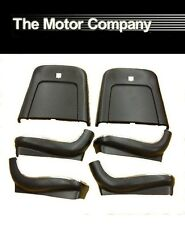 1969 1970 1971 1972 Nova SS 396 Chevy II Super Sport Seat Backs-Black J-4210