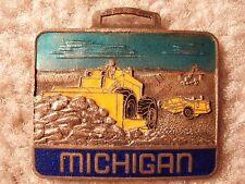 Michigan Bulldozer/Scraper Watch Fob MAO-13