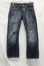 Buffalo David Bitton KRISTIAN Mens Jeans Distressed Size 28 Excellent Used Cond