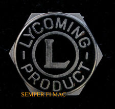 LYCOMING AIRCRAFT ENGINES LOGO HAT LAPEL PIN HELICOPTER ROTARY FIXED WING WOW