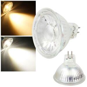LED Strahler MR16 12V mit COB Led Leuchtmittel Lampe Spot GU5,3 G5,3 12 Volt