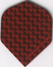RED IMPERIOUS Dart Flights: 3 per set