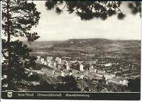 """Ansichtskarte Jena-Nord - Stadtteil - Universitätsstadt - """"Abendstimmung"""" - s/w"""