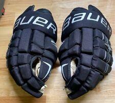 "New ListingBauer Ice Hockey Gloves Sr. 15"" Black - Four Roll"