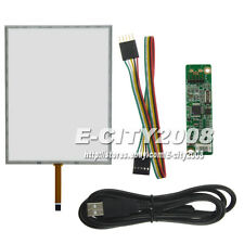 """15"""" 5wire Touch screen Digitizer + USB Controller kit FOr M150XN03 M150XN07 4:3"""