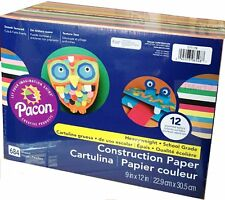 Pacon Construction Paper 684 Sheets 12 Colors Handcraft Paper brand new