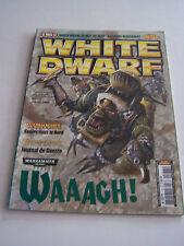 MAGAZINE WHITE DWARF , JEUX GAMES WORKSHOP ET FIGURINES N° 177 . TRES BON ETAT .