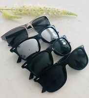Unisex Half Rimmed TAC Lens Protective Polarised Sunglasses Mens Women's UV400