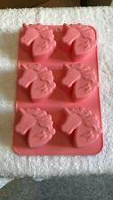2 Sizes Silicone Unicorn Cake Mould Decorating Sweet Wax Melt Soap Jelly