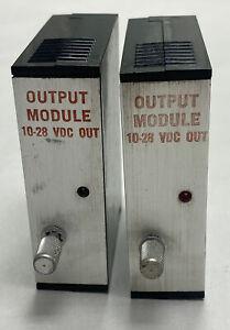 Texas Instruments 5MT14-30CL Output Module 10-28VDC Lot Of 2 NOS