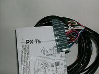 IMPIANTO ELETTRICO ELECTRICAL WIRING  VESPA  PX T5 CON SCHEMA ELETTRICO