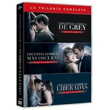 """DVD SERIE DE TV """"CINCUENTA SOMBRAS DE GREY 1-3"""". Nuevo y precintado"""