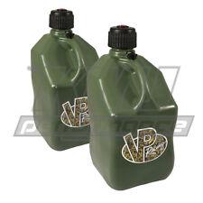 VP Fuel 2 Pack Camo 5 Gallon Race Fuel Jug Gas Can Alcohol Off Road ATV UTV
