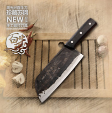 Professional Forged Chef Butcher Chop Bone Knife Kitchen Cutting Knives Handmade