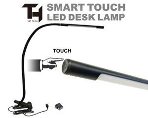 TAT TECH LED DESK LAMP Smart Touch Clip Tattoo Shop Equipment Furniture Supply