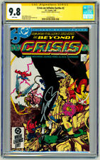 CGC SS 9.8 DC Crisis On Infinite Earths #2 SIGNED George Perez Art Superman JLA