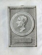 Gaius Iulius Caesar Rom Antike Kaiser Mord Brutus Roman Empire Roma Gallien 1801