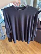 Eskandar Long Sleeve Black Shirt 0/S