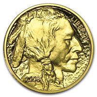 2008-W 1/2 oz Proof Gold Buffalo (w/Box & COA) - SKU #56817