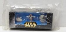 Star Wars Micro Machines Galoob Set Falcon Slave I Death Star 20th anniversary