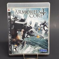 Armored Core 4 - Game Disc, Case & Cover Art - PS3 - FREE SHIPPING