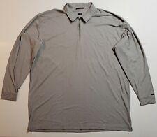 Tiger Woods 1/4 Zip Mock Neck Shirt Pullover Long Sleeve Mens Size 4Xl Euc