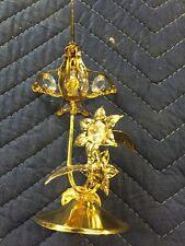 Crystal Delight 24K Gold Plated Australian Crystal Hummingbird - Mascot Inc