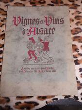 Vignes et vins d'Alsace – Foire régionale des vins d'Alsace 1949