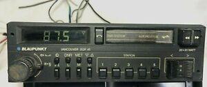 RETRO OLD BLAUPUNKT VANCOUVER SQR 45 CAR RADIO CASSETTE PLAYER