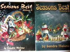 Seasons Best Volumes 4 & 5 - Tole Painting Booklets by Sandra Malone