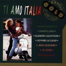 Ti Amo Italia (Bellaphon DOUBLE ORO) Alan Sorrenti, Fausto Leali, ad [CD DOPPIO]