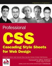 Professional CSS: Cascading Style Sheets for Web... by Dunstan Orchard Paperback
