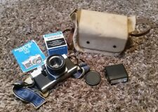 Praktica MTL3 camera with lens and other items