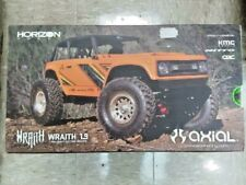Axial Wraith 1.9 1/10 RTR Scale Electric Rock Crawler Orange AXI90074T1 New!!