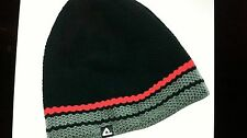 Dare 2b Hat/Beanie One Size - Black Red Grey Heavy Knit - Thermal inside