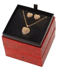 Guess Ubs91306 Ladies' Rose Plated Chic Jewellery Box Set