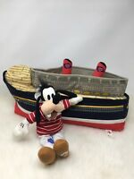 "Disney Cruise Line Plush Ship 16"" Goofy Sailor 10"""