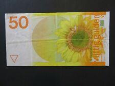 Niederlande Banknote 50 Gulden 1982 gebrauchte Umlauferhaltung (USED)