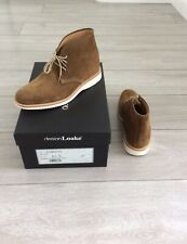 Men's Loake Python TS Viper Tan Suede Boots, UK Size 6.5G