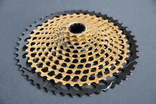 SRAM XG-1299, 10-50T, 12 speed EAGLE Cassette, XD, Gold, VVGC !!!