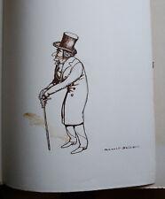 Conte du Bord du Rhin ERCKMAN CHATRIAN & BELTZ DEDICACE + dessin 1951 n°268/299
